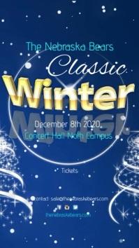 Winter Classic Concert Instagram-verhaal template