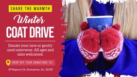 Winter Coat Drive Facebook Cover Video