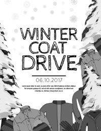 Customizable Design Templates for Coat Drive | PosterMyWall