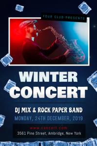 Winter Concert Poster Template