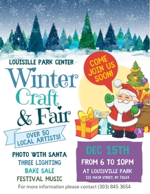 Winter Craft & Fair Flyer