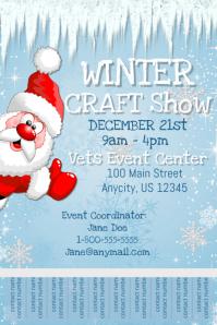 Winter Craft Show Template