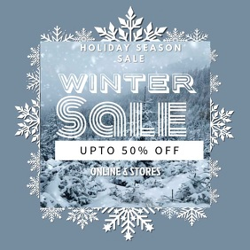 Winter Discount Instagram Video Template