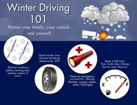 Winter Driving Folder (US Letter) template