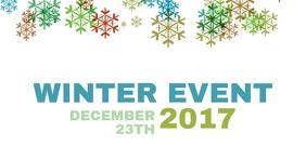 Winter Event Facebook post template video