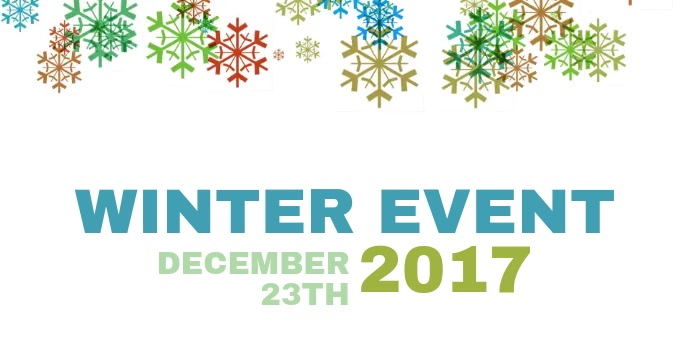 Winter Event Facebook post template video