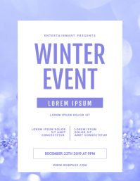 winter Event Flyer Template