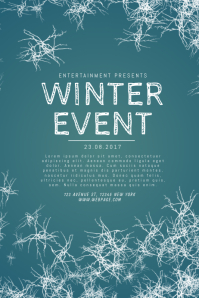 1 080 customizable design templates for winter flyer postermywall