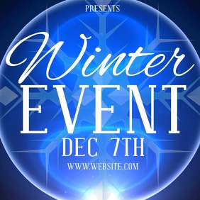 WINTER EVENT TEMPLATE Logo
