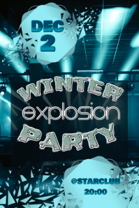 Winter explosion party