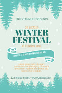 Winter Fair Festival Flyer Template