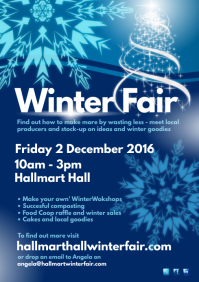 Winter Fair Poster