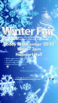 Winter Fair เรื่องราวบน Instagram template