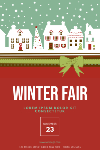 Winter Fair Flyer Template