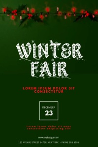 Winter Fair Flyer Template video