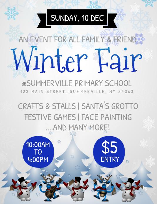 Winter Fair Flyer