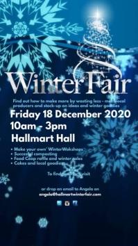 Winter Fair Video Instagram Story template