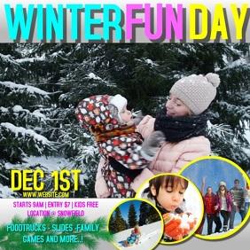 WINTER FAMILY FUN DAY AD DIGITAL VIDEO