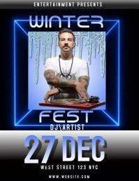 winter fest festival video digital ad