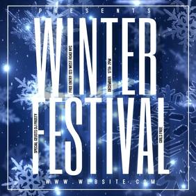 WINTER FESTIVAL TEMPLATE Square (1:1)