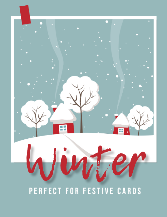 Winter Festive Cards