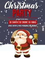 Winter flyer, New year flyer, Event flyer