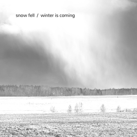 Winter is Coming Minimal CD Cover Template