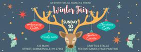 Winter Kids Event Facebook Banner template