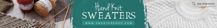 Winter Knitwear Etsy Banner Etsy-banner template