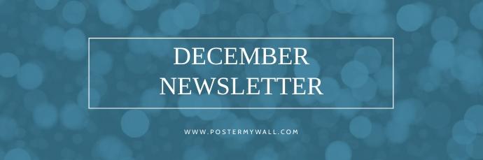 Winter Newsletter email header template 电子邮件标题