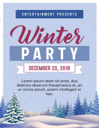 Winter Party Poster/Flyer