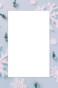 Winter Party Prop Frame