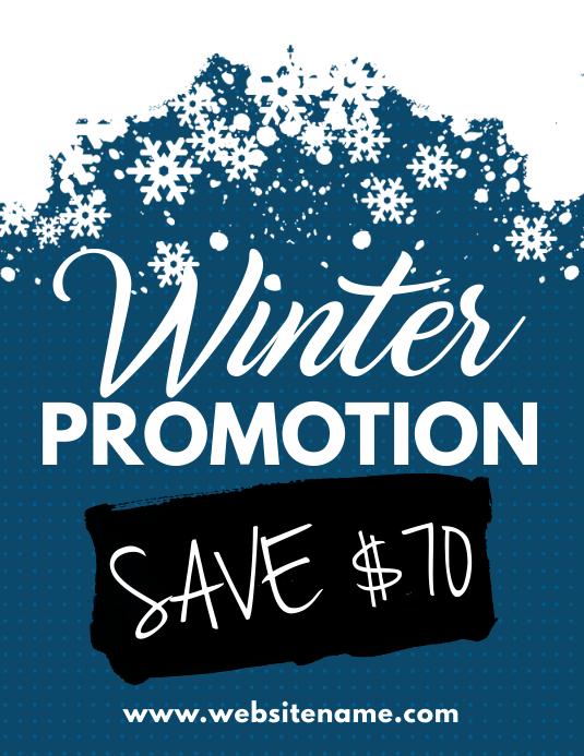 Winter Promotion Flyer