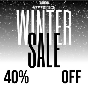 winter sale AD VIDEO