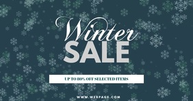 Winter Sale Facebook Post Template