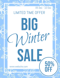 Winter Sale Flyer