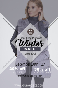 Winter Sale Flyer Event Template