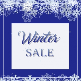 Winter Sale Instagram