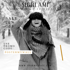 Winter Sale Instagram Promo Banner