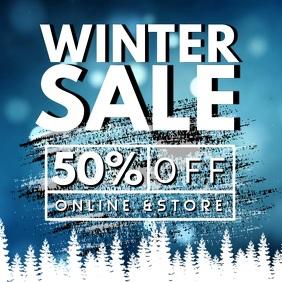 Winter Sale Instagram Video Template