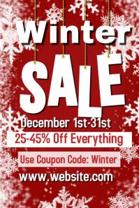 Winter Sale Template