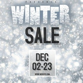 WINTER SALE VIDEO SOCIAL MEDIA