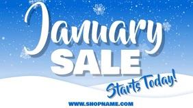 Winter Sale Video Template Digital Display (16:9)