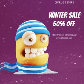 WINTER SALE VIDEO TEMPLATE