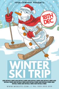 Winter Ski Trip Poster
