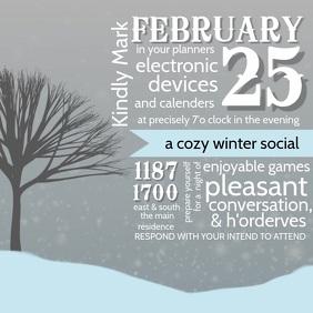 Winter Social video Template