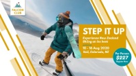 Winter Sports Facebook Cover Video template