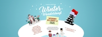 Winter Wonderland Facebook Cover Photo template