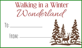 winter wonderland tag