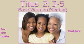 Wise Women Bible Study Meeting